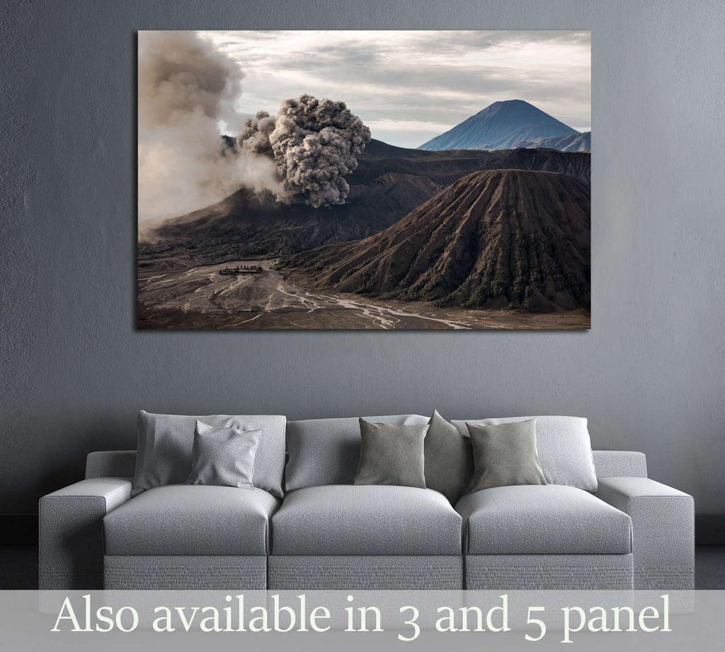 The Bromo Volcano Eruption Java Indonesia 3097 Ready To Hang