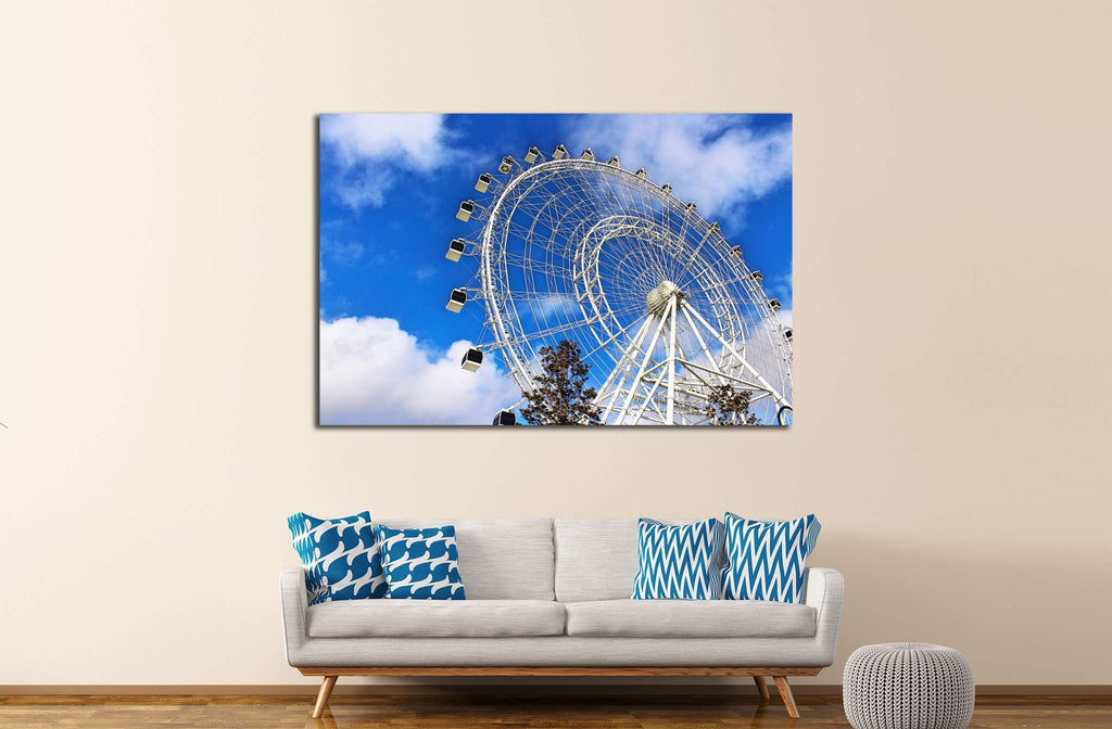 The Eye of the Sky №1906 Ready to Hang Canvas Print