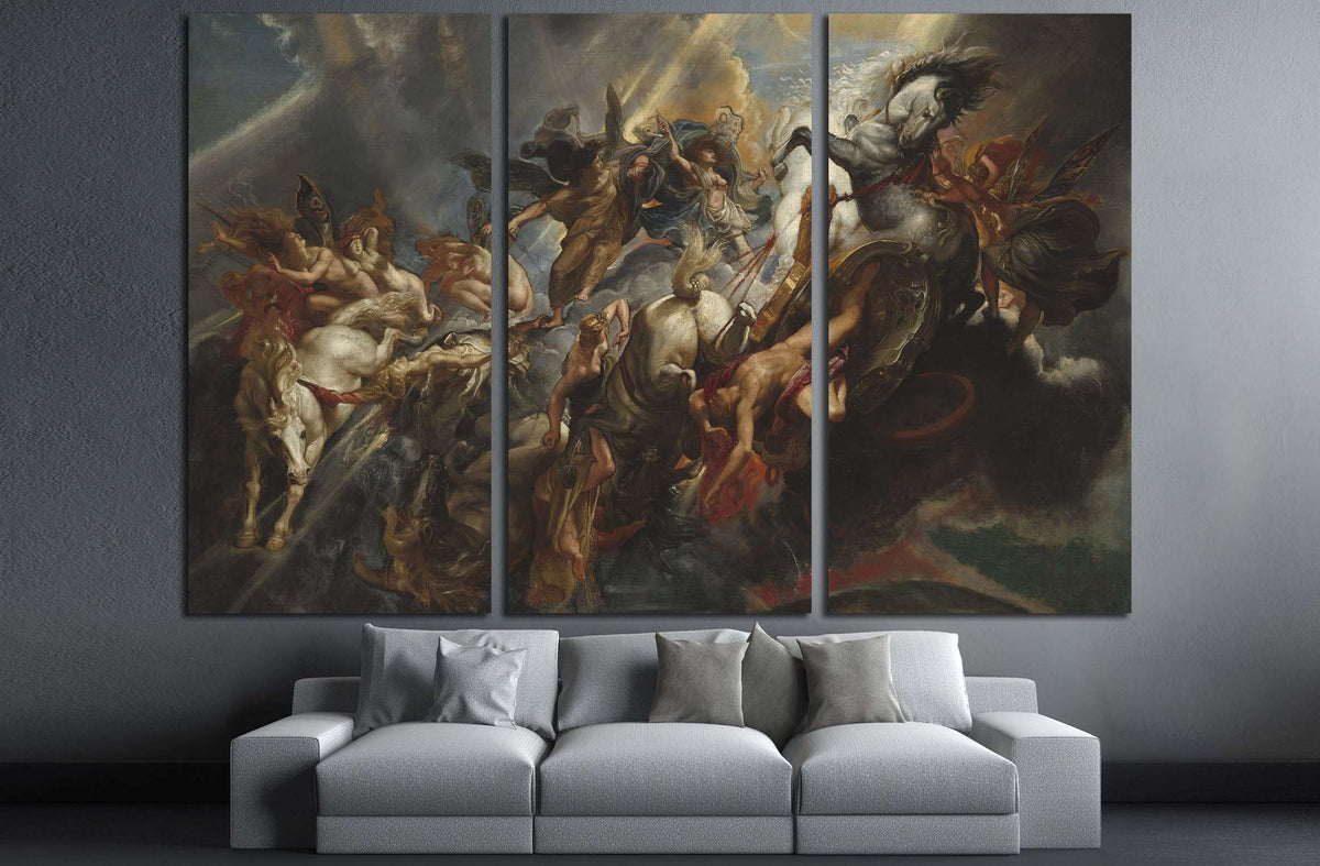 The Fall Of Phaeton By Peter Paul Rubens №3231 Ready To