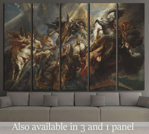 The Fall of Phaeton, by Peter Paul Rubens №3231 Ready to Hang Canvas Print