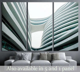 The Galaxy SOHO project in central Beijing №1575 Ready to Hang Canvas Print