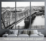 The Royal Alexandra Interprovincial Bridge, Ottawa, Canada №2096 Ready to Hang Canvas Print