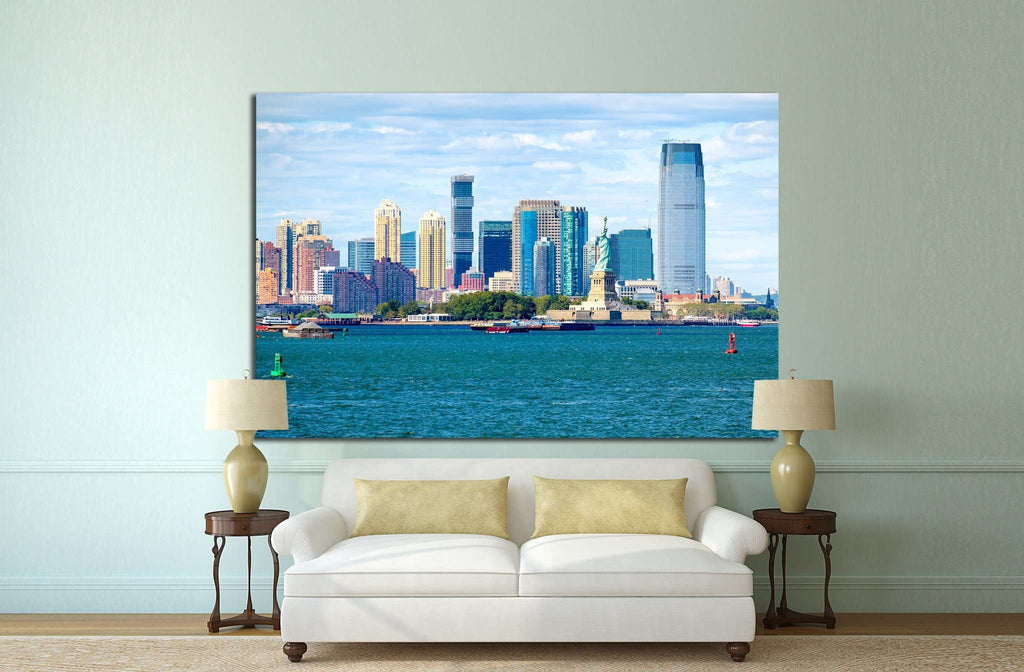 The Statue of Liberty in New York City №1256 Ready to Hang Canvas Print