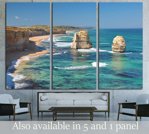 The Twelve Apostles, Australia №2697 Ready to Hang Canvas Print