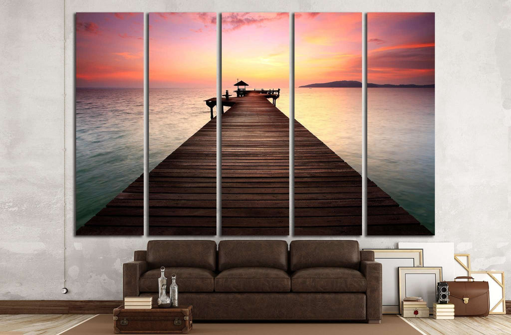 The Way №1393 Ready to Hang Canvas Print