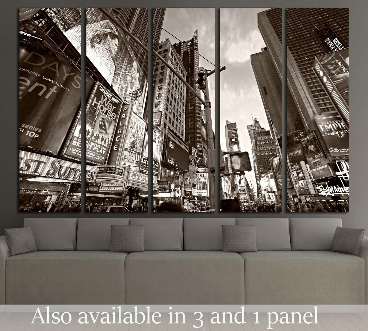 Ny Manhattan: Times Square, Broadway Theaters And Animated LED Signs