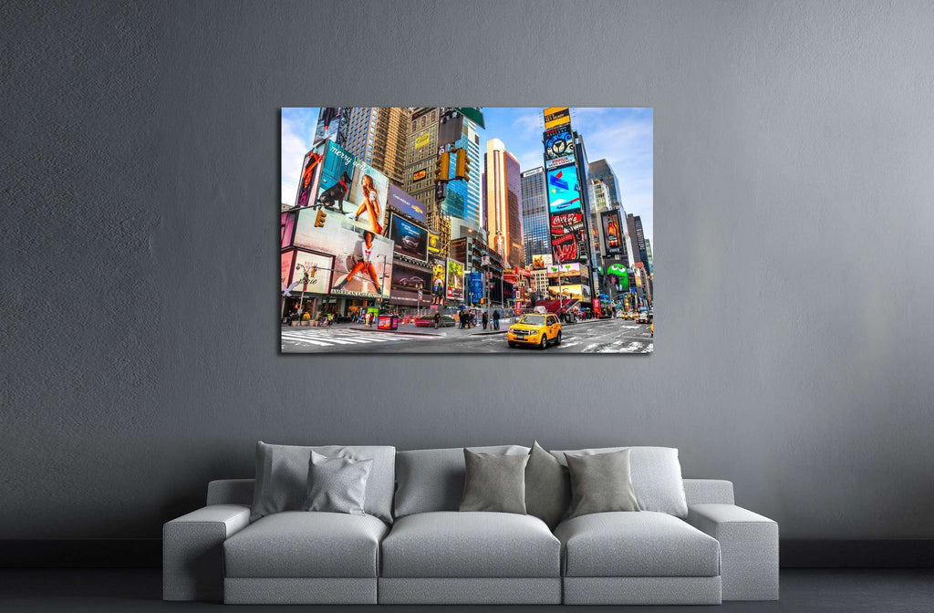 Times Square, Manhattan, New York City №2287 Ready to Hang Canvas Print