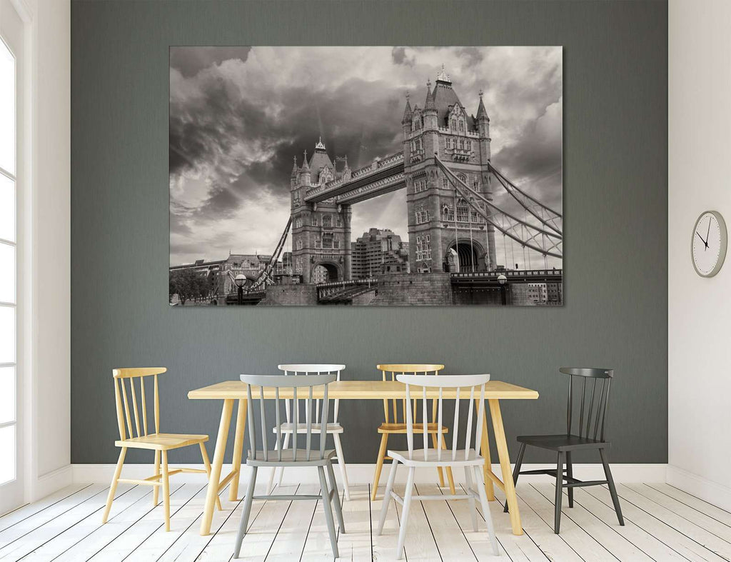 Tower Bridge №3006 Ready to Hang Canvas Print