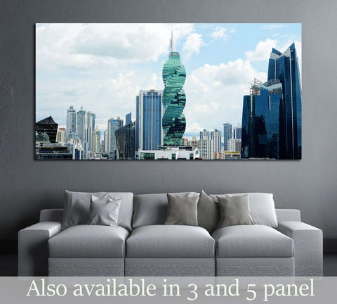 Tower is an office tower in Panama City №2402 Ready to Hang Canvas Print