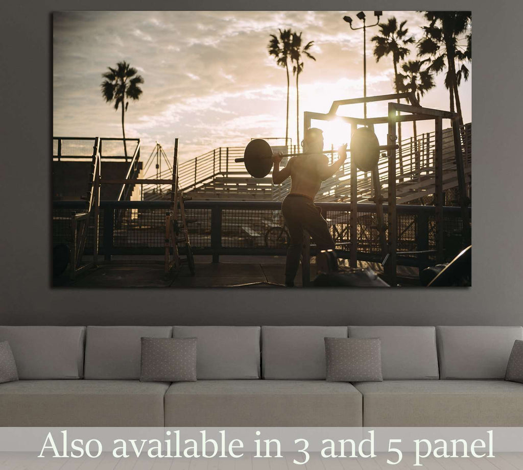 Training №1460 Ready to Hang Canvas Print