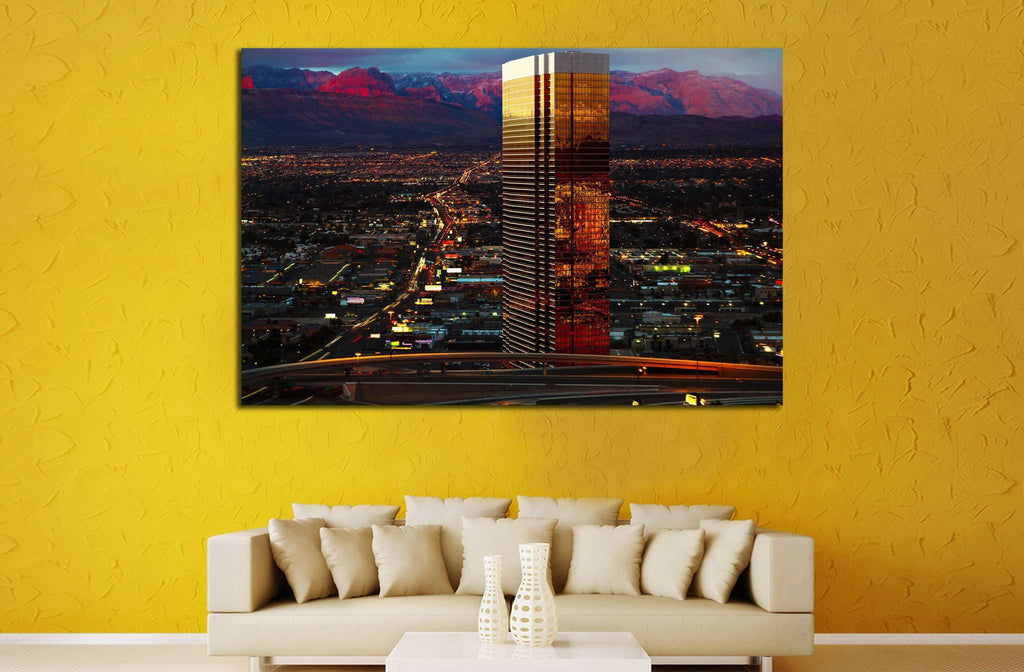 Trump Tower Las Vegas №522 Ready to Hang Canvas Print