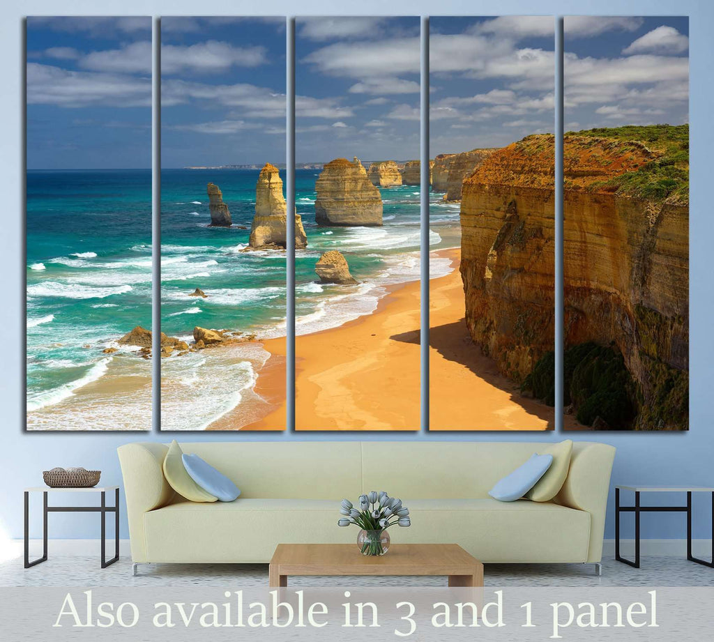 Twelve Apostles, Australia №840 Ready to Hang Canvas Print