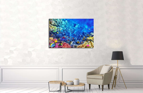 Underwater world №3068 Ready to Hang Canvas Print