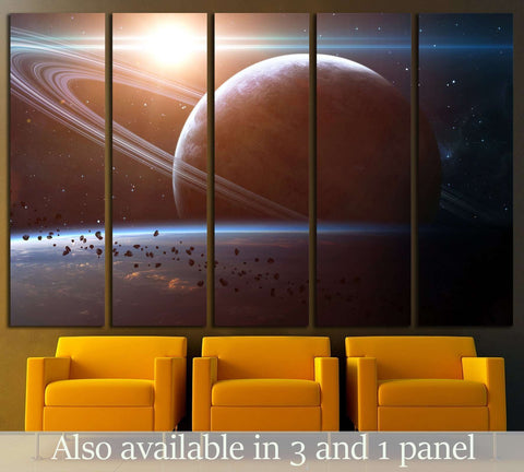 Elements Furnished By NASA №2438 Ready To Hang Canvas Print