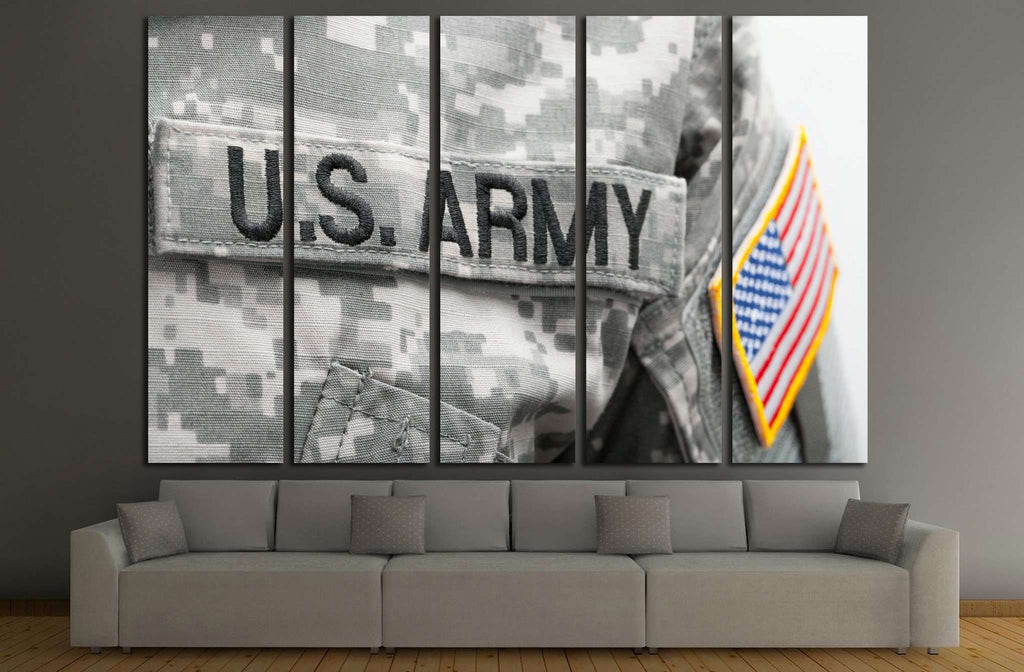 U.S. ARMY №714 Ready to Hang Canvas Print