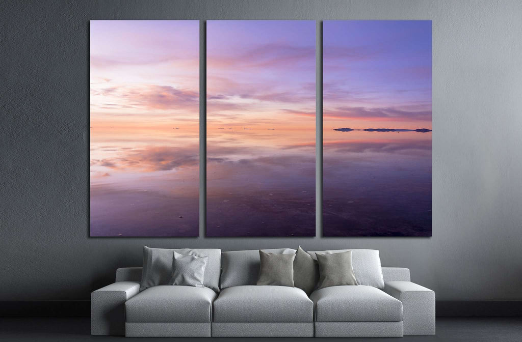uyuni salt lake №1996 Ready to Hang Canvas Print