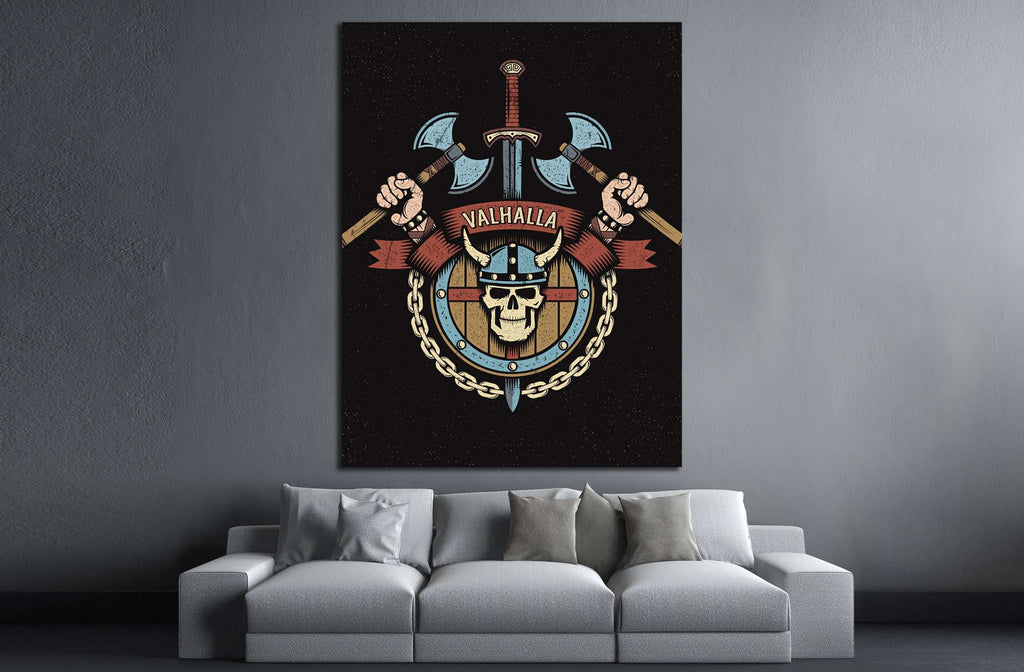 valhalla №4583 Ready to Hang Canvas Print