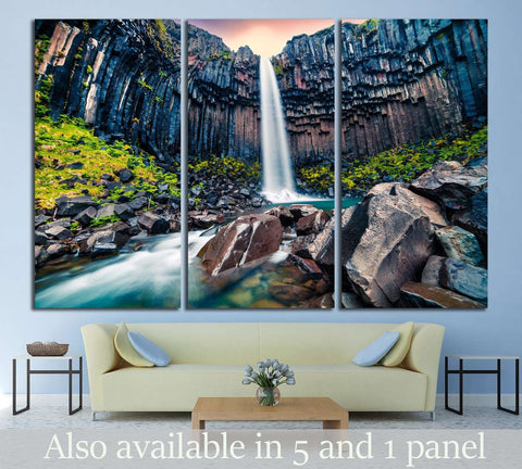 Vatnajokull National Park, Iceland №880 Ready to Hang Canvas Print