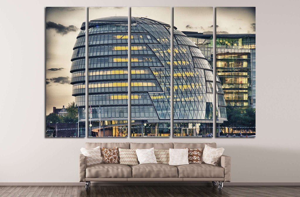 view of London №780 Ready to Hang Canvas Print