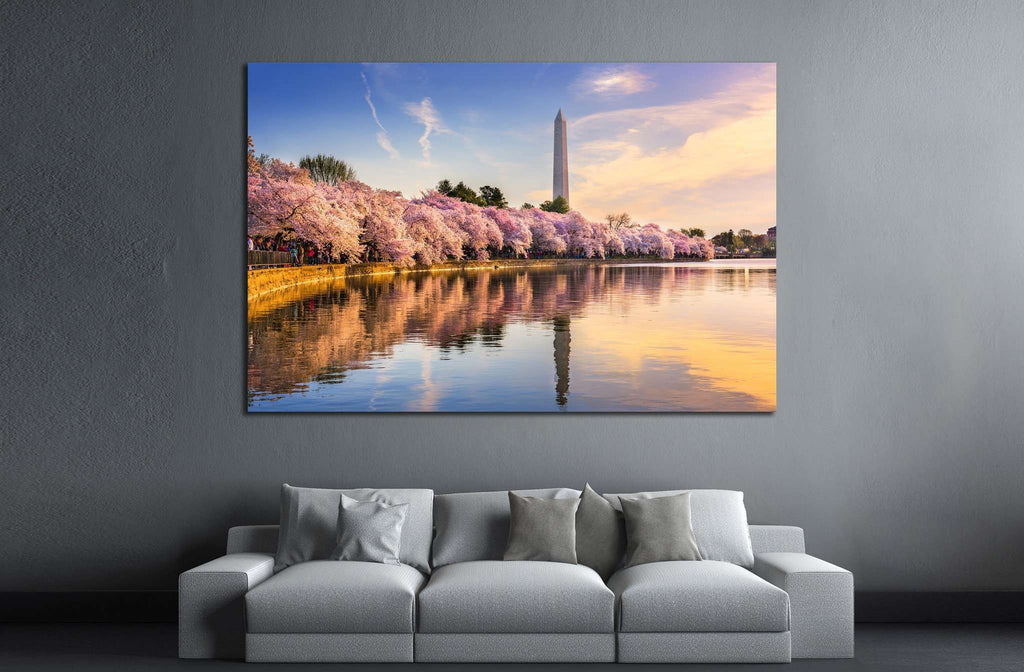 Washington DC, USA №1004 Ready to Hang Canvas Print