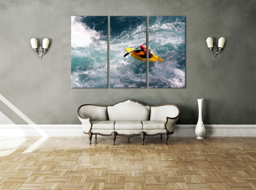 Water Sports №658 Ready to Hang Canvas Print