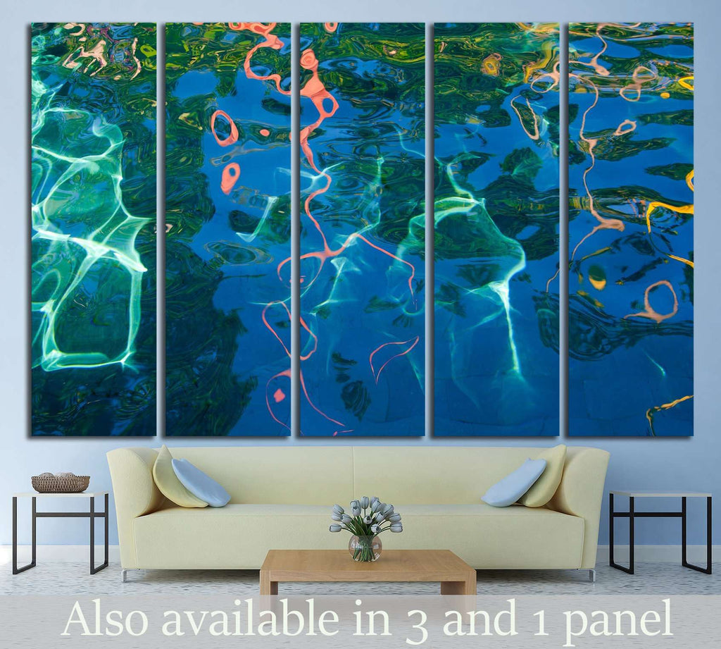 Water surface №1067 Ready to Hang Canvas Print