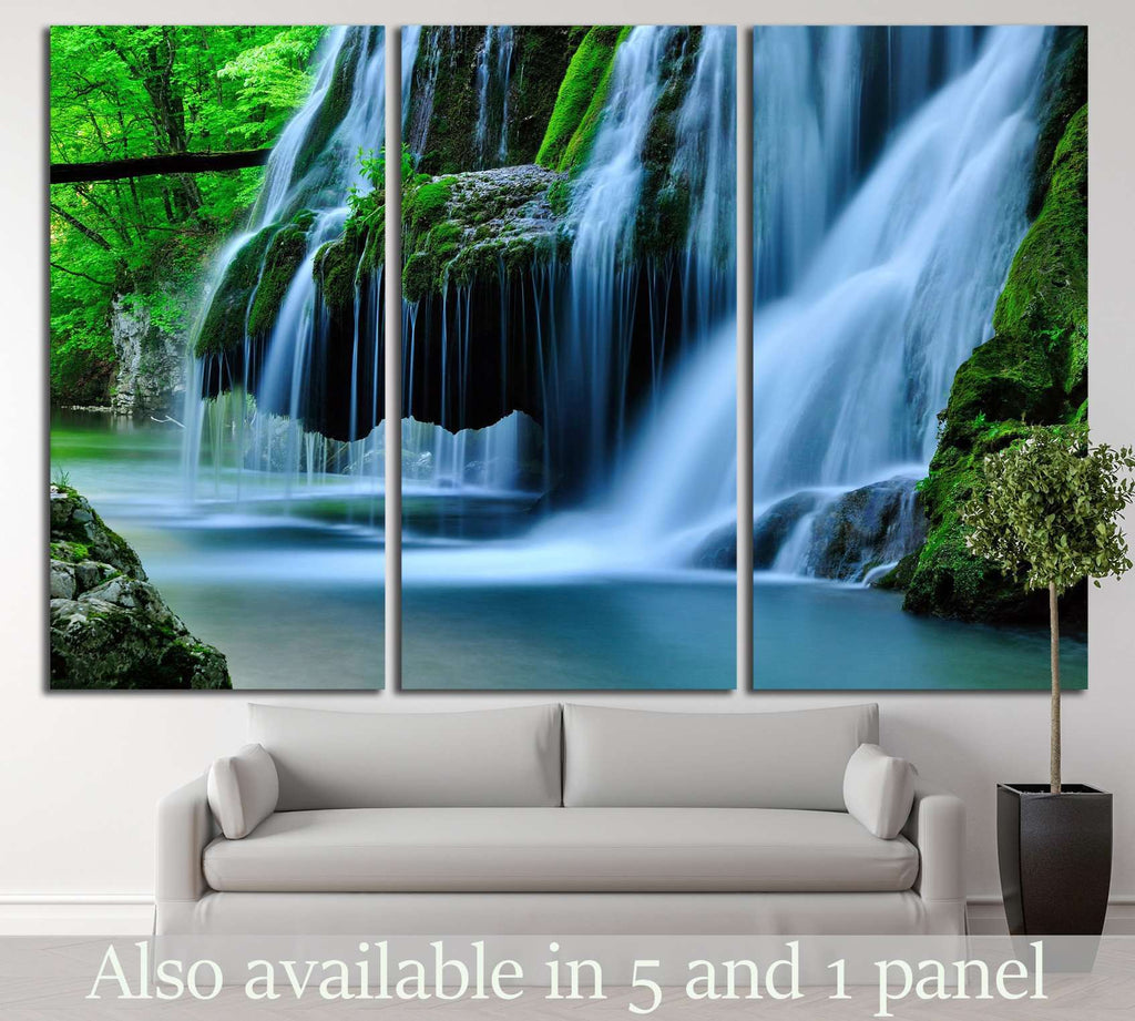 Waterfall Bigar, Romania №644 Ready to Hang Canvas Print
