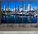 Waterfront at Toronto with high rise building as background №2029 Ready to Hang Canvas Print