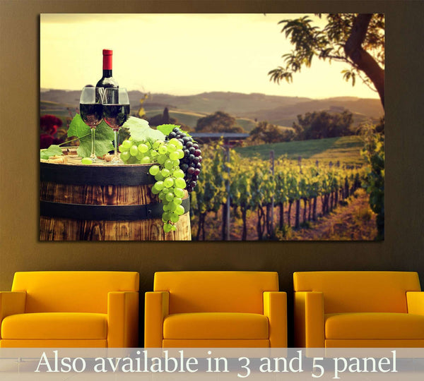 Wine №3439 Ready to Hang Canvas Print