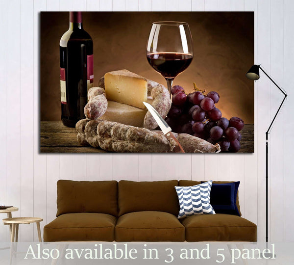 Wine №3441 Ready to Hang Canvas Print