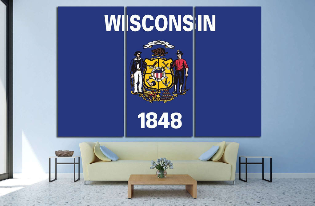 Wisconsin №668 Ready to Hang Canvas Print