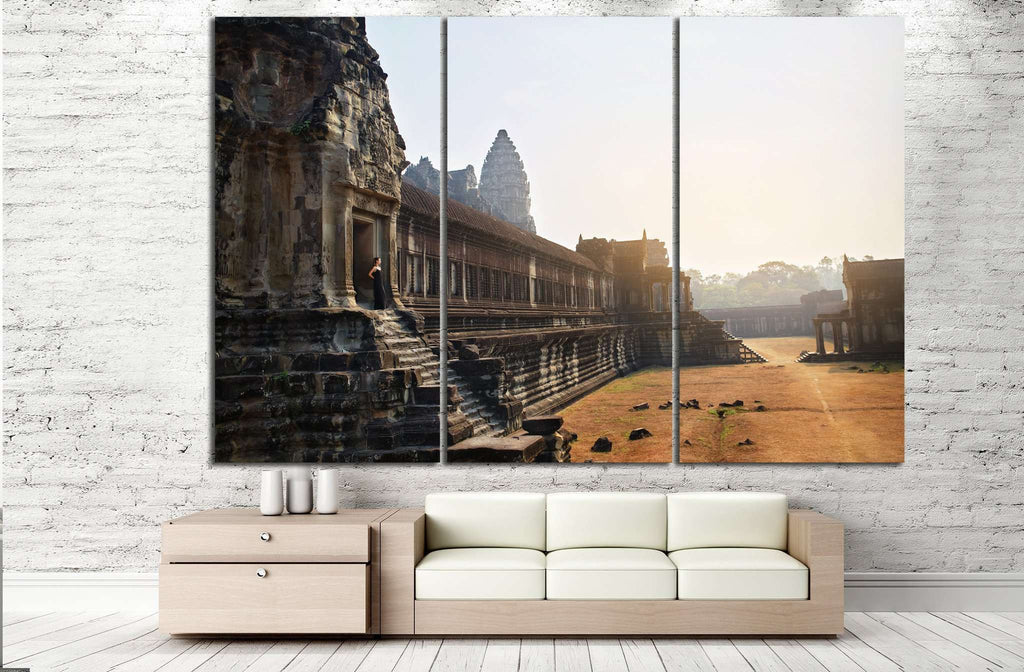 World Largest Religious Monument, Asia №860 Ready to Hang Canvas Print