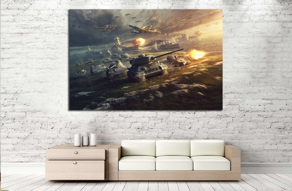 Tank Wall Art №227 Ready to Hang Canvas Print