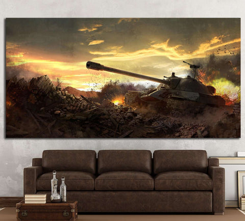 Tanks Wall Art