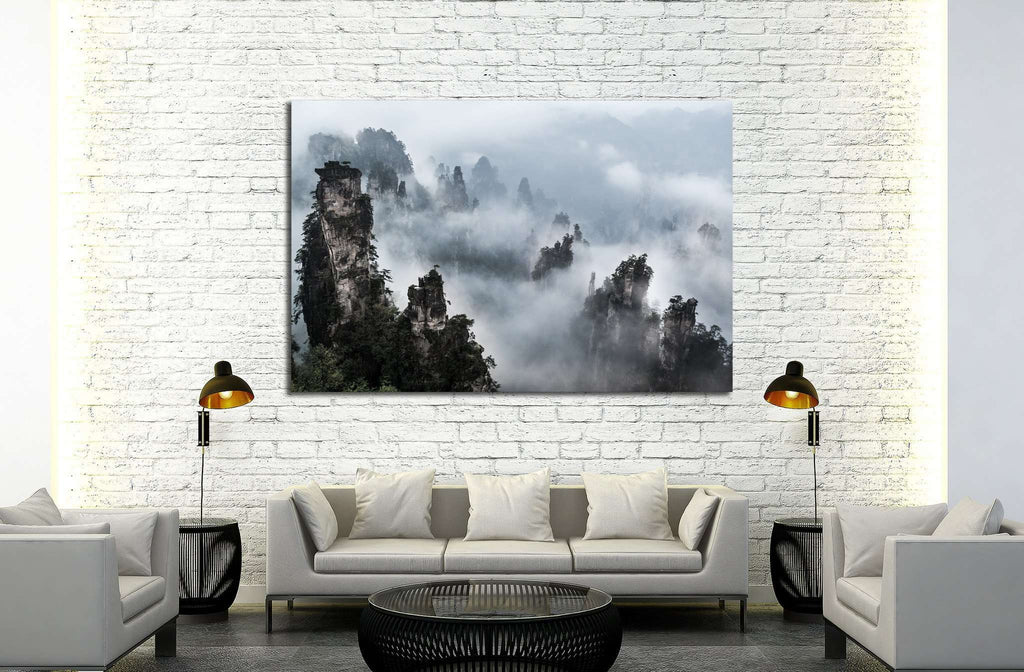 Wulingyuan national forest park in Hunan province, China №1993 Ready to Hang Canvas Print
