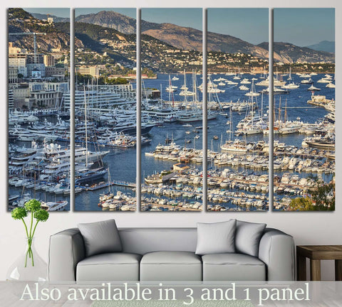 Yacht Club №213 Ready to Hang Canvas Print