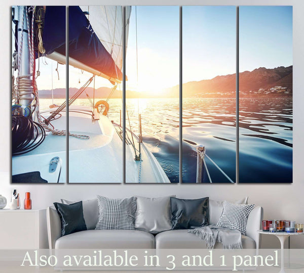 Yacht Wall Art №208 Ready to Hang Canvas Print