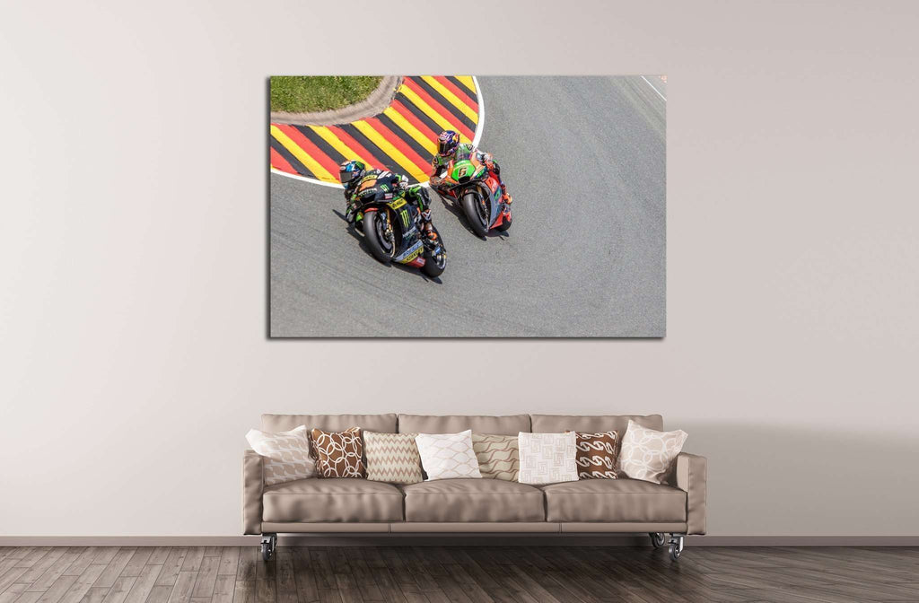 Yamaha & Aprilia №159 Ready to Hang Canvas Print