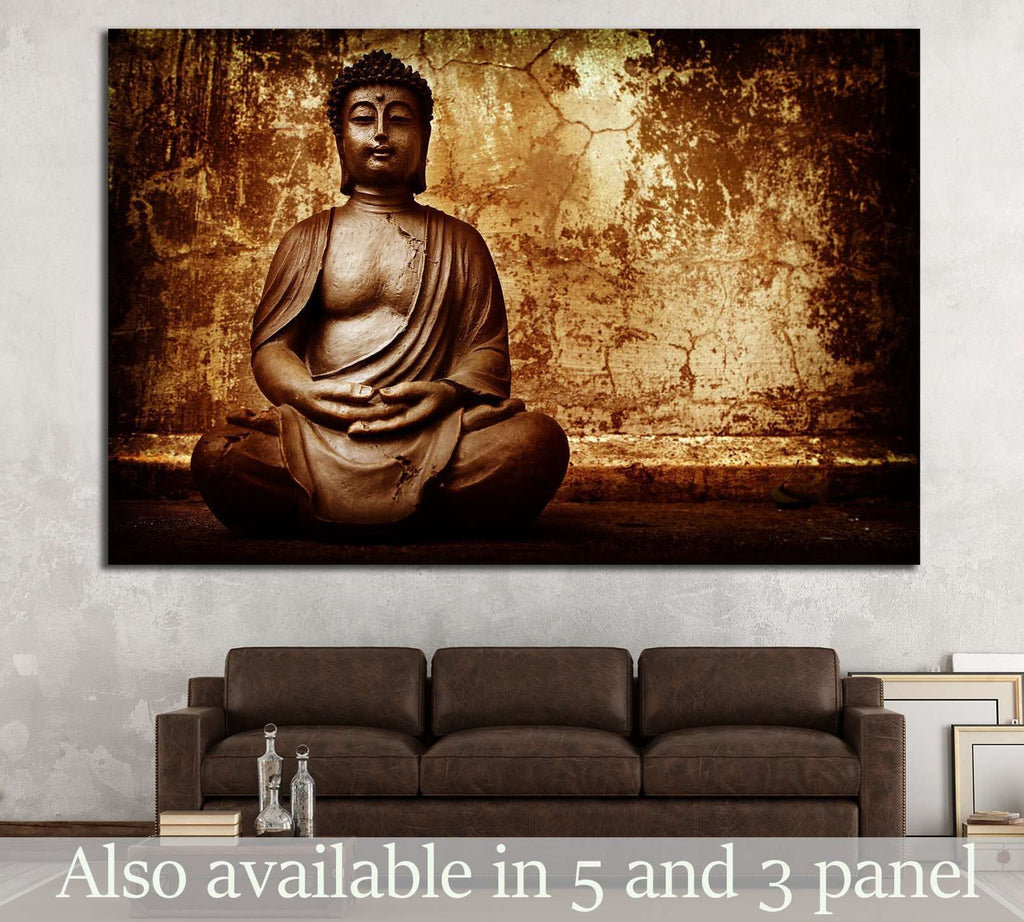 Zen Buddhism №706 Ready to Hang Canvas Print