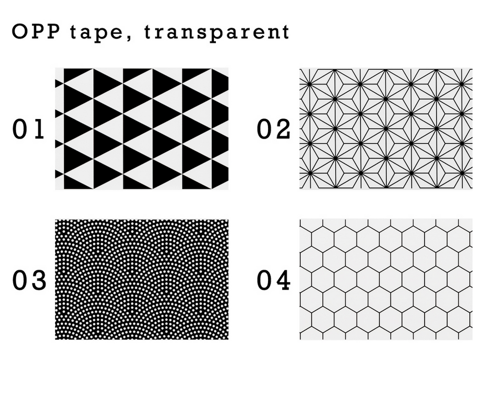 ADHESIVE HARU CHENEL TAPE DESIGN DECORATION
