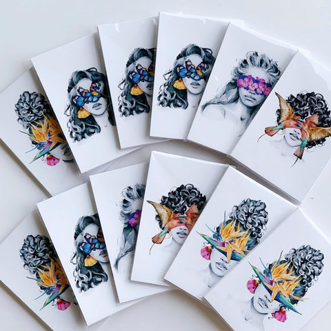 Set of 18 Mini-prints