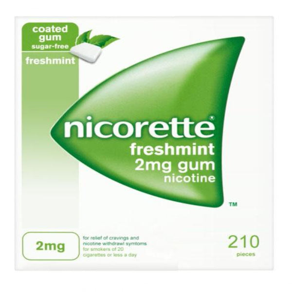 How to Stop Smoking using Nicorette Fresh Mint Chewing Gum