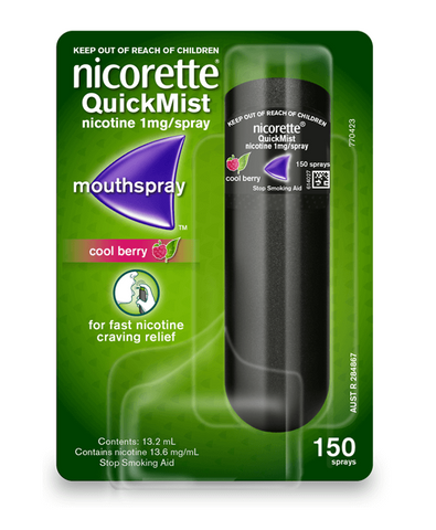 Nicorette QuickMist Freshmint Mouth Spray