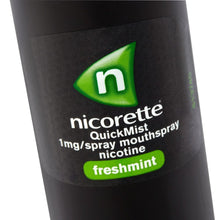 Load image into Gallery viewer, Nicorette QuickMist Mouth Spray Duo Pack, Fresh Mint, 1 mg (Stop Smoking Aid)