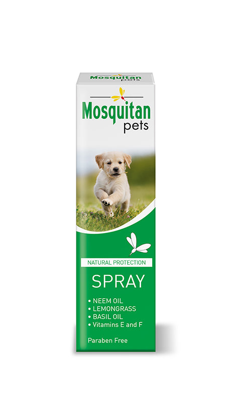 Mosquitan Pets Anti Mosquito Spray, Natural & Deet Free Ingredients - 100ml