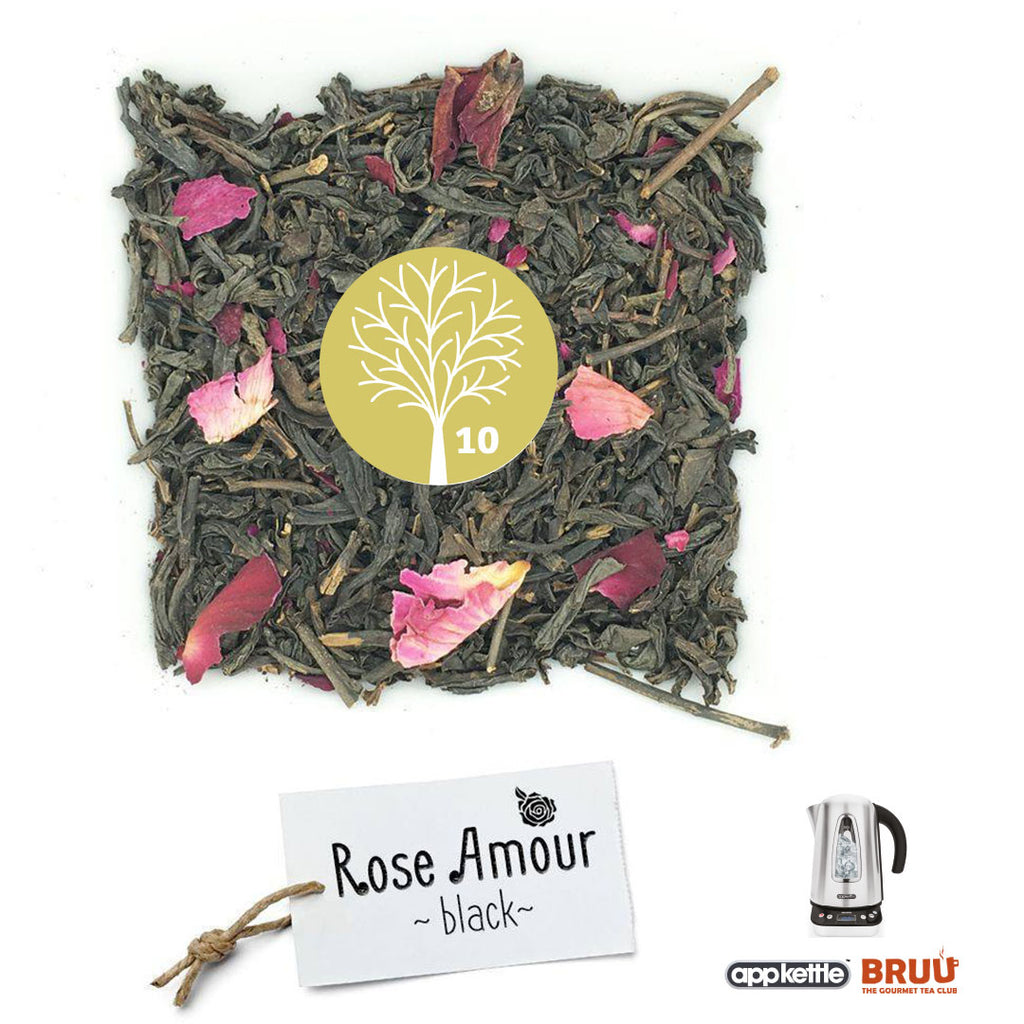 Bruu Tea Advent Calendar Day 10: Rose Amour