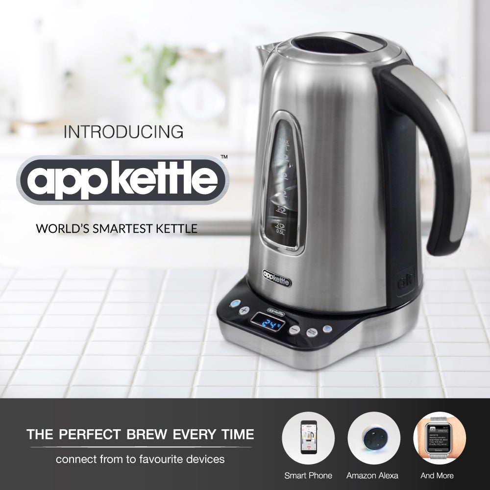 Smart people use a smart kettle: a great gift for technology lovers.