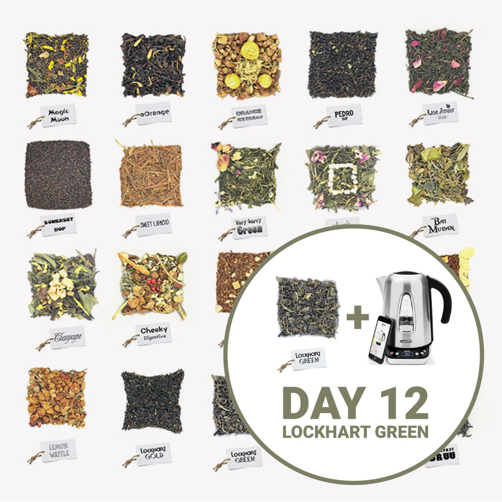 Bruu Tea Advent Calendar Day 12: Lockhart Green
