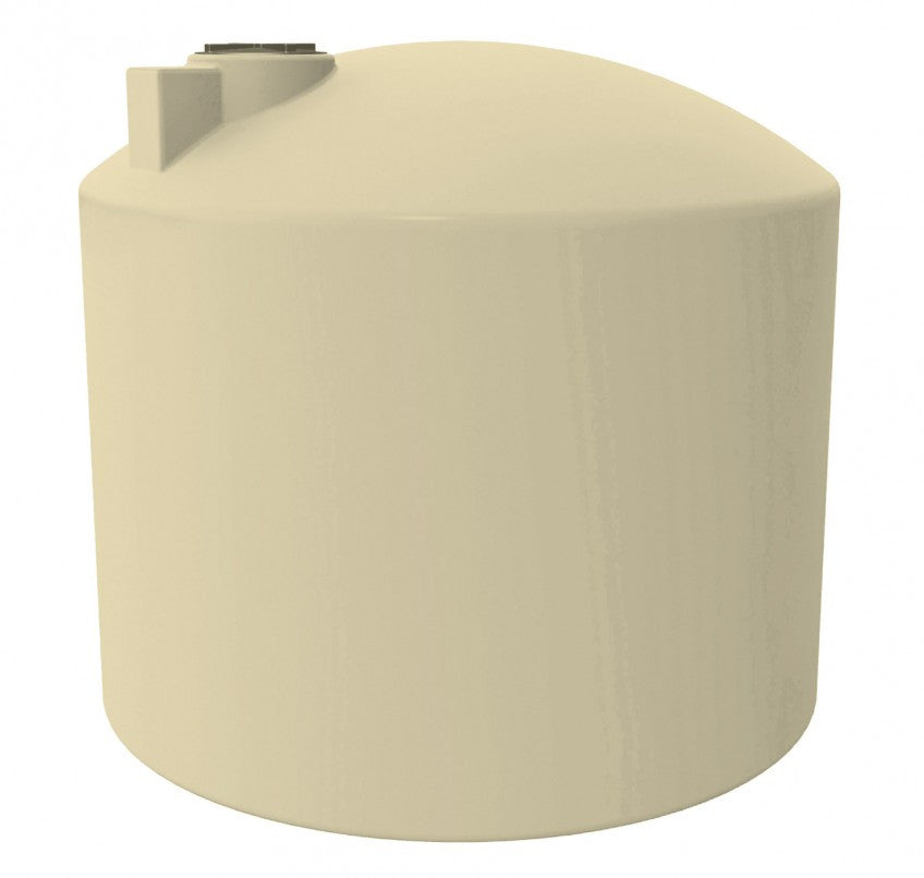 13500 Litre (3000 Gal) - Poly Water Tank Round
