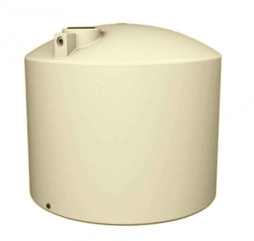 22500 Litre TALL (5000 Gal) - Poly Water Tank Round